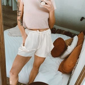UO Silk Shorts